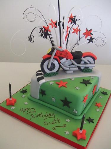 CAKE - Motorbike theme