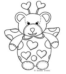 love bear - b