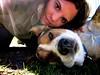 beautiful world (Willow Creek Photography) Tags: dog beautiful mutt friend friendship canine harley trust mongrel femaledog loyalty brownandwhitedog beautifulworld pitbullmix houndmix harleyrey kingstonreyphotography