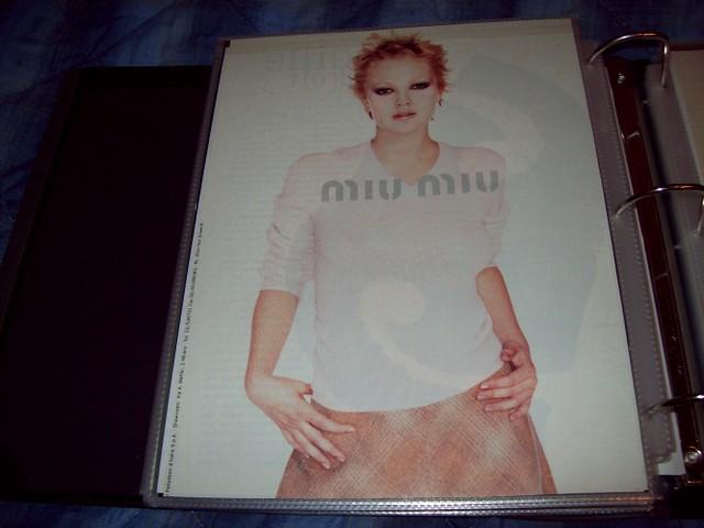 Drew Barrymore - Miu Miu Ad by drewsevolution