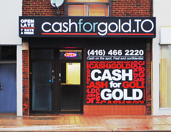 CashforgoldTO  874 Danforth Ave Storefront (edited) by cash-for-gold-toronto