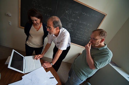 Mathematicians (DaveMosher) Tags: computer geometry mathematics calculus chalkboard mathematicians trigonometry