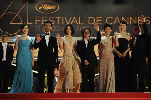 戛纳电影节上的中国面孔(组图)