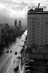 . (Tom Andrews) Tags: rain losangeles hollywood hollywoodblvd wetstreet hollywoodboulevard tomandrews hollywoodrain