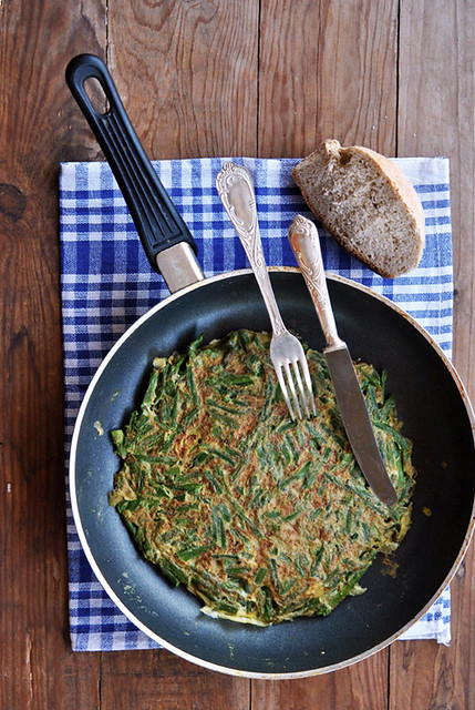 1.Frittata con asparagi
