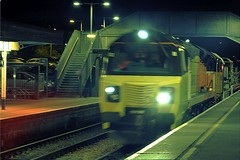 70802 Gillingham Dorset (relex109.com) Tags: yard blurry running an class east number hour late but 70 gillingham eastleigh 1846 colas 70802 feniton 6c19 674f dorsetbit