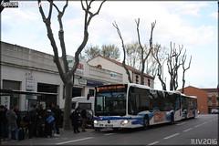 Mercedes-Benz Citaro - Keolis Narbonne / Citibus n149001 (Semvatac) Tags: semvatac photo bus tramway mtro transportencommun mercedesbenz citaro dc731zd keolisnarbonne citibus b arrtgarecondorcet boulevardcondorcet narbonne aude