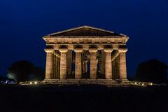 Templi Paestum, Italy... (Minieri Nicola) Tags: templi paestum italia campania citta architettura paesaggio notte ora blu arte rocce scavi