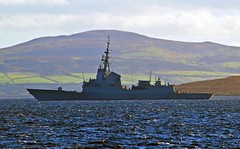 Almirante Juan de Borbn - F102 (Zak355) Tags: jointwarrior 2016 scotland riverclyde royalnavy navy exercise frigates shipping ships boats vessel scottish almirantejuandeborbn f102