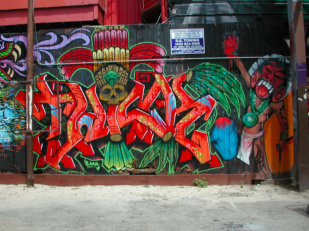 TWICK, ICP, San Francisco, Graffiti, Street Art