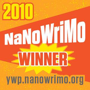 I Won NaNoWriMo by CrazyBrck