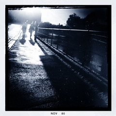 ~ Walking Ghosts... ~ (ADAM TAYLOR | Photography) Tags: life street winter shadow england people urban streets english weather composition season walking point photography photo photographer shadows seasons view place photos pov perspective streetphotography perspectives places location lincolnshire application pointofview lincoln tones tone app winters locations 3gs apps applications iphone wintry englishweather brayford weathers brayfordpool iphoneography iphoneographer iphone3gs iphoneographers