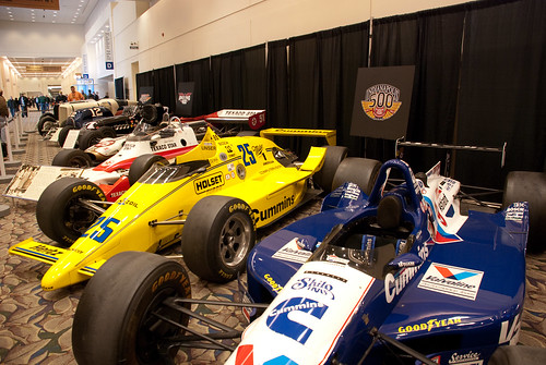 IMS Hall of Fame Miseum Cars