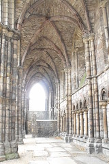 Ruins of Abbey at Palace of Holyroodhouse (acinorev79) Tags: monument scotland ruins edinburgh scozia palaceofholyroodhouse