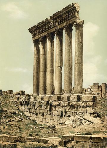 Peristyle of Temple of Jupiter Heliopolitan, Baalbek