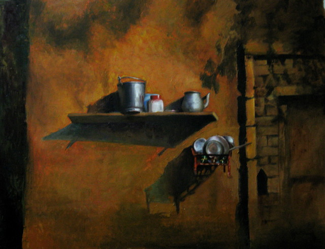 My Another Achievement (My Photograph Painted By Pooja) by Amir Mukhtar Mughal  wwwamirmukhtarcom