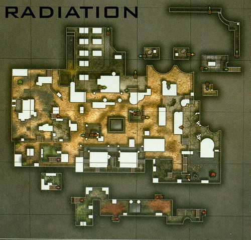 Radiation Overhead View