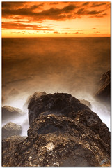 passing light (chris frick) Tags: longexposure sunset seascape raw tripod filter rough mallorca whitebalance mediterraneansea cokin 121f 121l a550 passinglight remoteshuttercontrol chrisfrick bensdavall sonyalpha550 tobaccolight sony111845