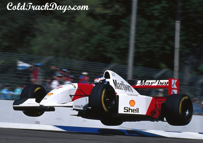 EYE CANDY // ALAIN PROST GOES AIRBORNE
