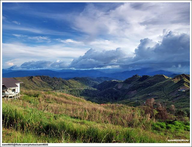 Kundasang Landscape