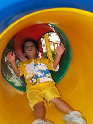 Julian down the tube slide