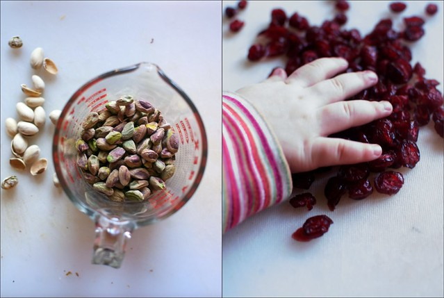 pistachio, meet cranberry