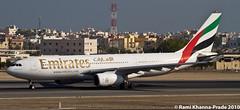 Emirates A330 (Rami Khanna-Prade) Tags: bahrain airport emirates airbus aeroport a330 bah a332 a330243 obbi