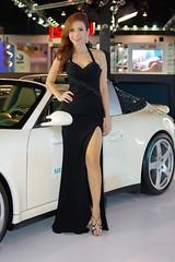 Girls and cars - another motor show in Bangkok (UweBKK ( 77 on )) Tags: show girls woman hot sexy cars girl car booth thailand women asia expo bangkok sony babe babes attractive motor southeast alpha dslr 550 photographyrocks platinumheartaward