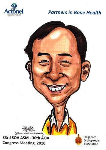 Caricatures for Sanofi-Aventis - 23