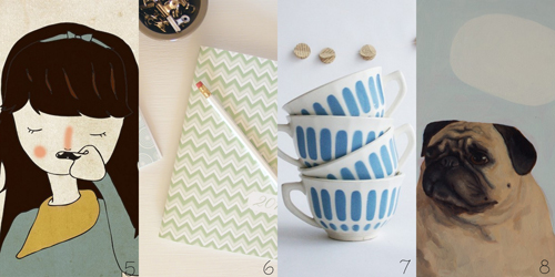 Etsy Take Five Tuesday: Gift List