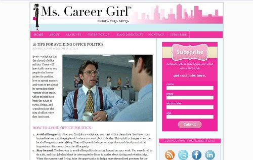 Ms. Career Girl