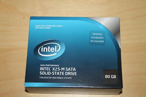 Intel X25-V 80GB SSD