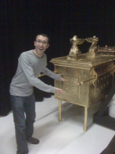 I found the Ark of the Covenant!