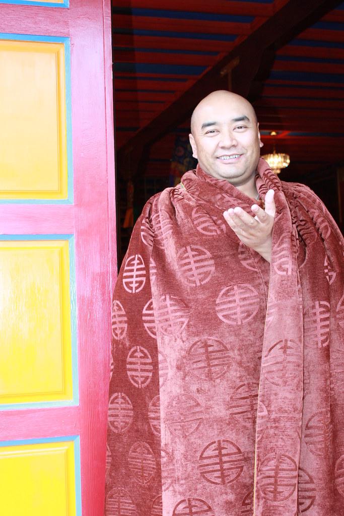 朗喇嘛近照(2010年) - 坚华嘉措 - 坚华嘉措(本人的博客独此一家,绝无分店)