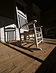 Rock On (Ph0tomas) Tags: sunlight lumix chair shadows g1 rocking rockingchair f4 vario 714mm