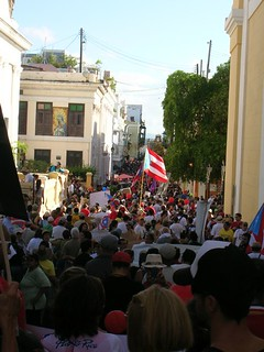 From flickr.com/photos/50673125@N00/5258898283/: Protest in San Juan, Puerto Rico