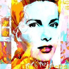 Grace Kelly #486 (Eden Fine Art Gallery, Mamilla , Jerusalem) Tags: art fineart digitalart canvas gracekelly jerusalemartgallery dganitblechner edenmamilla