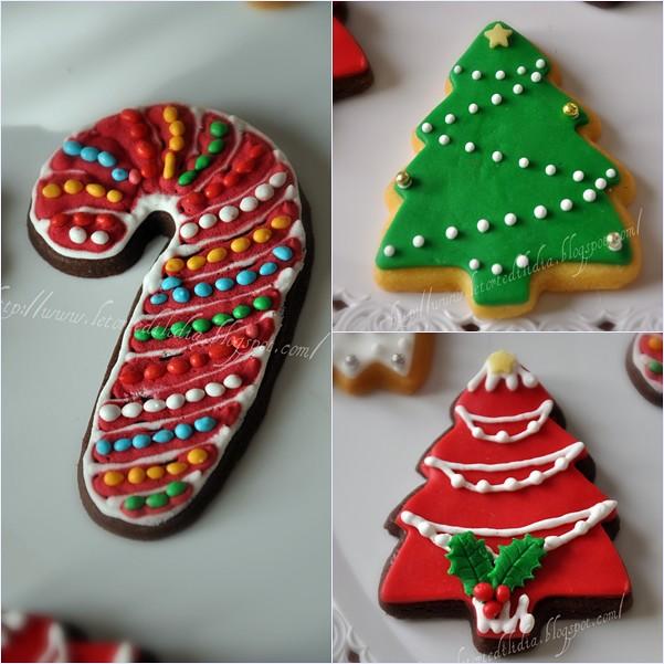 Biscotti decorati Per un dolce Natale