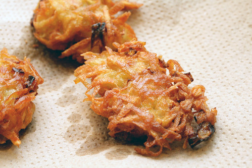 fried latkes