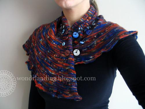 Palette shawl