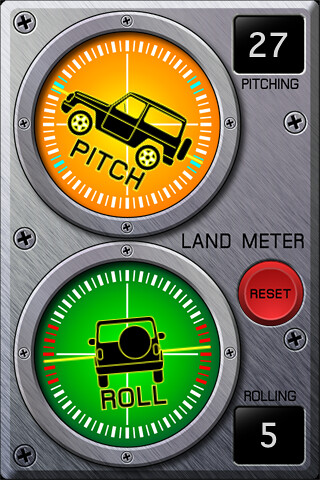 LandMeter iPhone
