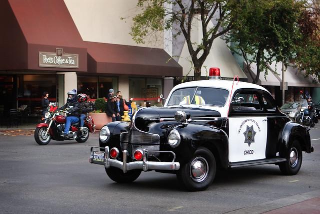 Retro Police Car