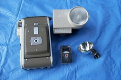 Polaroid Highlander Model 80A with Wink Light, Flash, and Light Meter (faithapatton) Tags: camera vintage polaroid flash highlander retro lightmeter landcamera winklight ohthanks