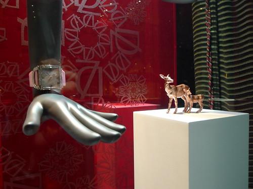 Vitrines Delaneau par Stéphanie Moisan - Genève, décembre 2010