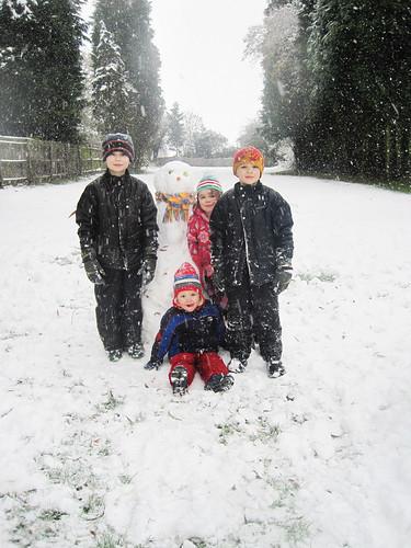 England snow