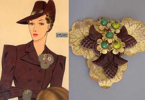 Vintage Miriam Haskell Jewelry