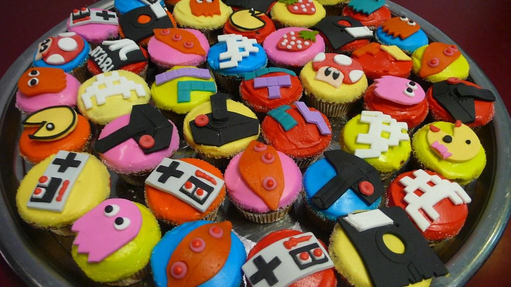 ARCADE Cupcakes CAKE Amsterdam