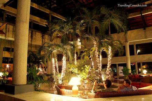 Lobby at the Bavaro Princess Resort in Punta Cana