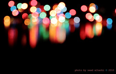 First Bokeh ! (Saad Albalhi) Tags: colors canon bokeh saad  saadalharbi