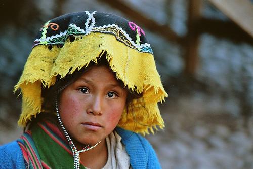 South American Tribal Girls South-america - peru / girl on